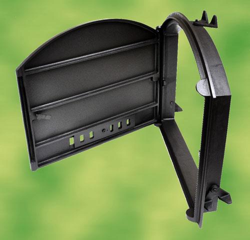 porte de four en fonte pour four pizza four bois four pain neuf ebay. Black Bedroom Furniture Sets. Home Design Ideas