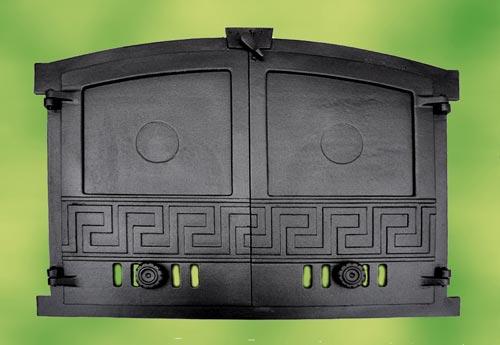 backofent r kaminofent r gusseisen 2 fl gelig f r pizzaofen holzbackofen brot ebay. Black Bedroom Furniture Sets. Home Design Ideas
