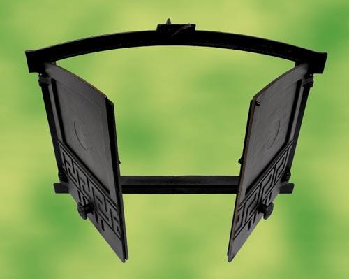 backofent r kaminofent r gusseisen 2 fl gelig f r. Black Bedroom Furniture Sets. Home Design Ideas