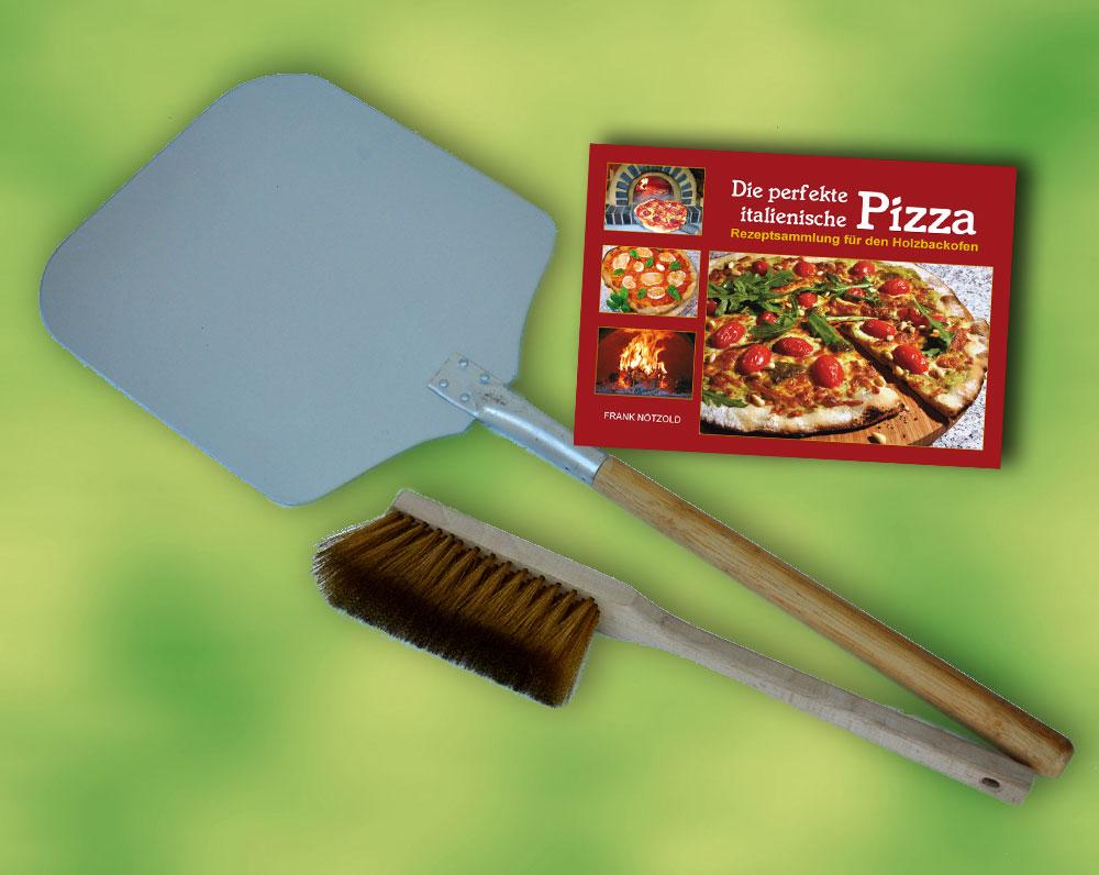 Pala pizza set 3 piezas para horno pizza horno de le a - Hornos de lenas ...