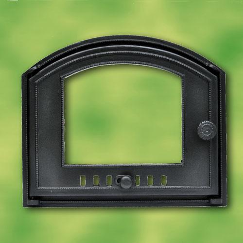porte de four en fonte avec voyant en verre pour four pizza four bois got2g ebay. Black Bedroom Furniture Sets. Home Design Ideas