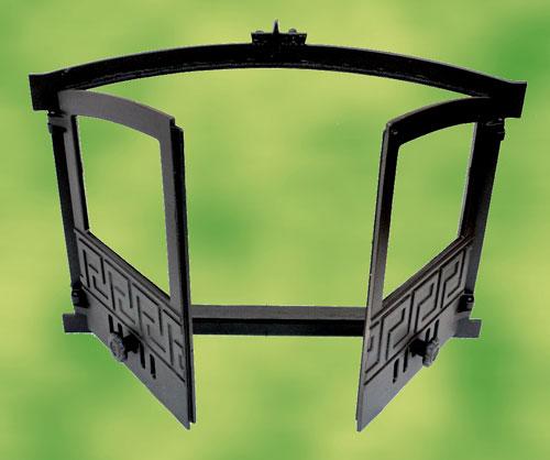 backofent r gusseisen mit sichtglas 2 fl gelig f r. Black Bedroom Furniture Sets. Home Design Ideas