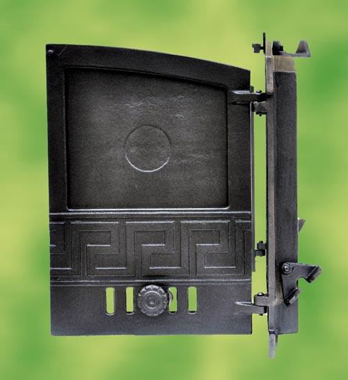 Oven door stove door cast iron 2 wings for pizza oven wood for Door 2 door pizza
