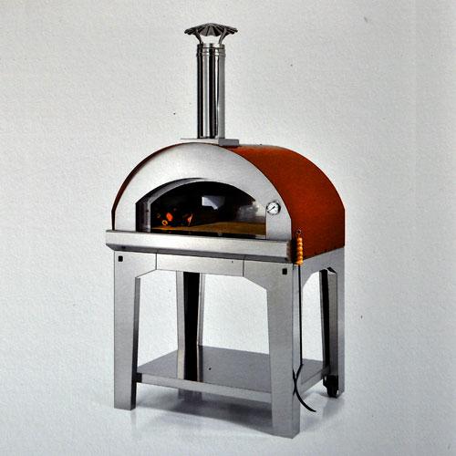 Pizzaofen margherita 80x60 mobiler pizzaofen f r garten terrasse und balkon ebay for Pizzaofen bausatz kaufen