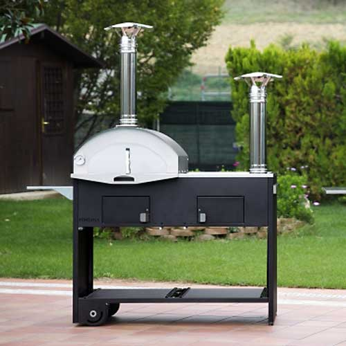 Pizzaofen - Barbecue - Grill - Outdoorküche - Smoker - Wok - 6 In